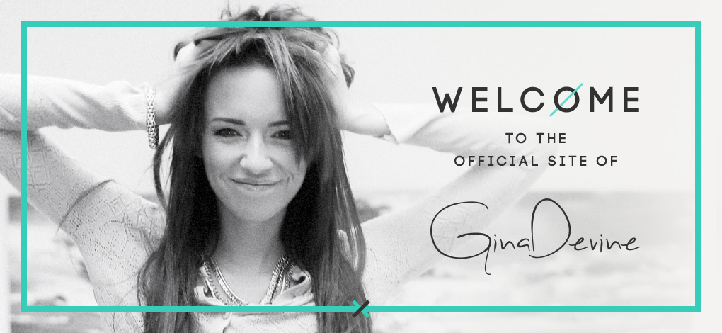 Welcome to the Official site of Gina Devine